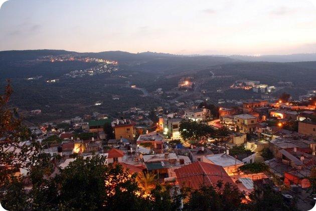 nacht over Galilea