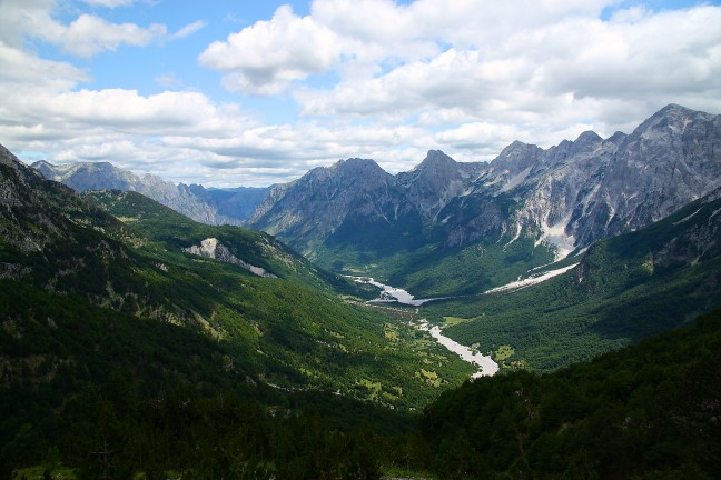 Hiking the Albanian Alps