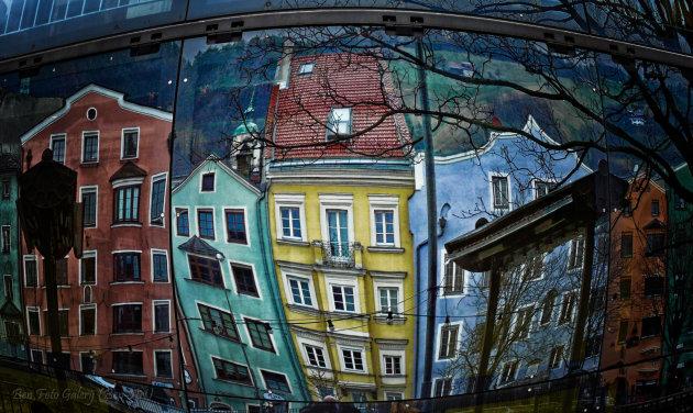 Huizen in de spiegel