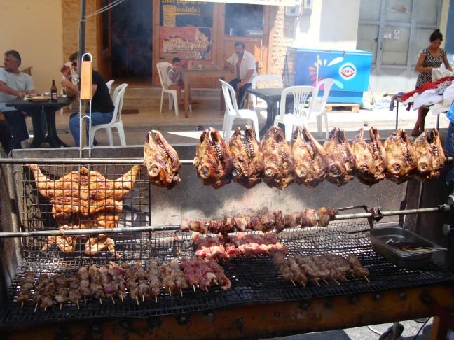 Wekelijkse markt in Mires en Timbaki