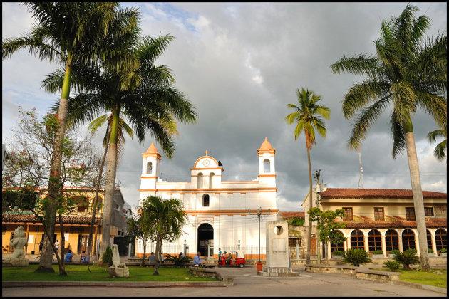 Het Zocalo in Copán