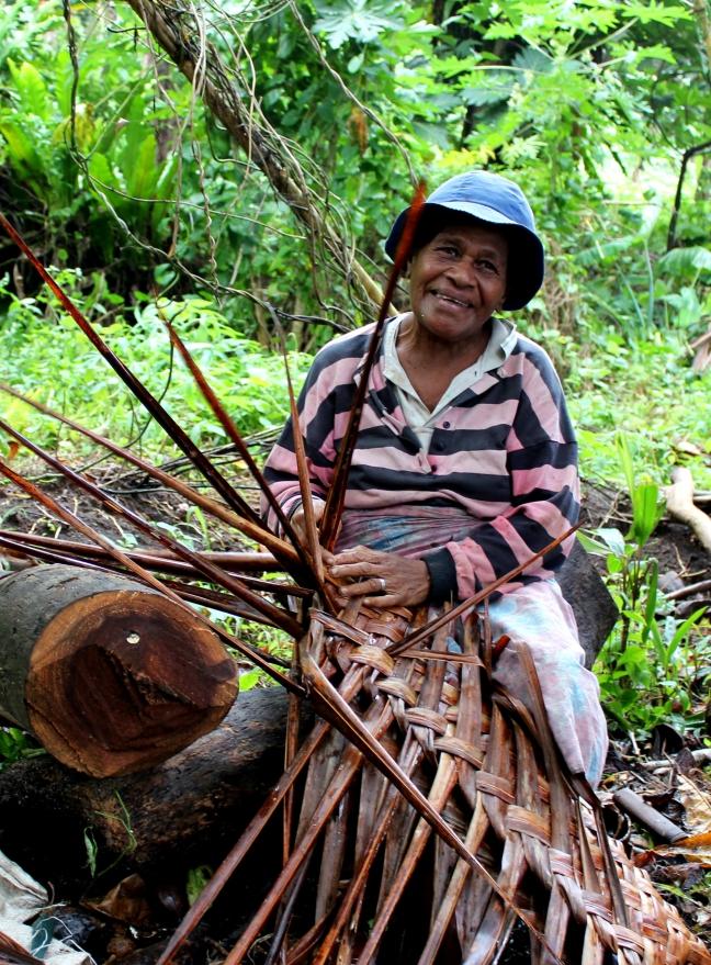 Bewoonster van Taveuni, 'The garden island of Fiji'