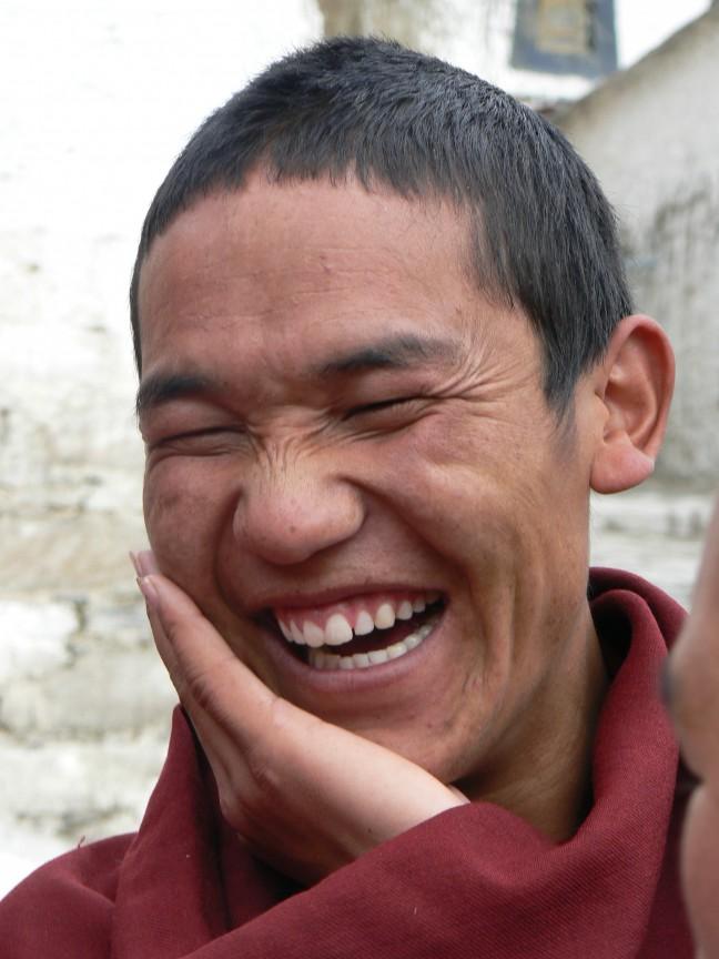 De lachende monnik
