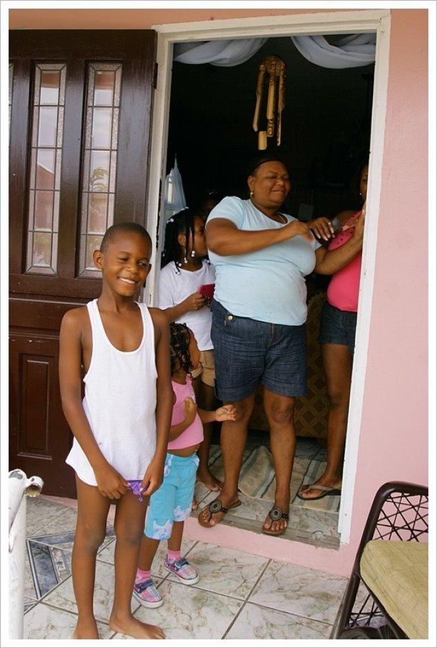familie in Oranjestad