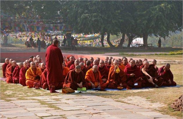 Geen monnik maar wel boeddhist