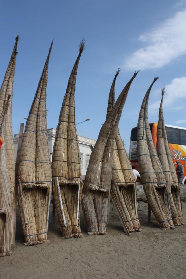 Bamboo boten