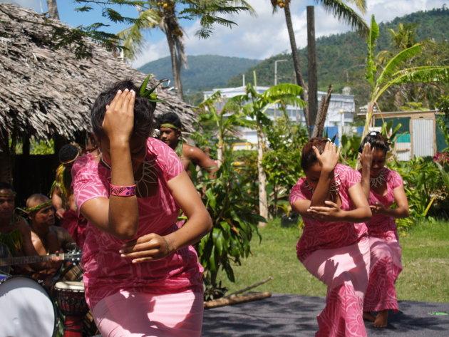 Traditionele dansen in Apia