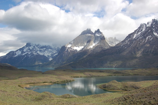 IJzige hoogtes bij Torres de Paine