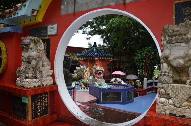 Chinese tempel.