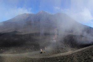 De Etna: wandelen in een maanlandschap.