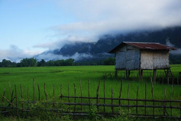 Tham Kong Lo grot omgeving