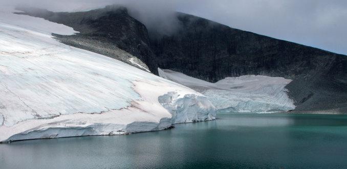 Gletsjer, gletsjerwater...