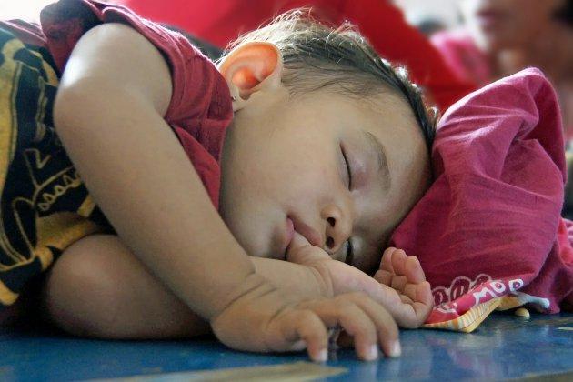 Slapen op een Batakbruiloft