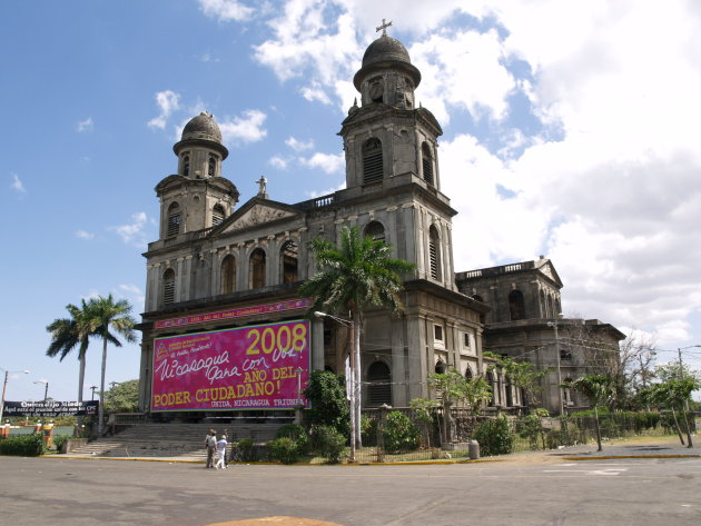 kathedraal in Managua