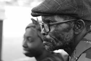 Geoffrey: a shoe repairs man in the city of Lusaka