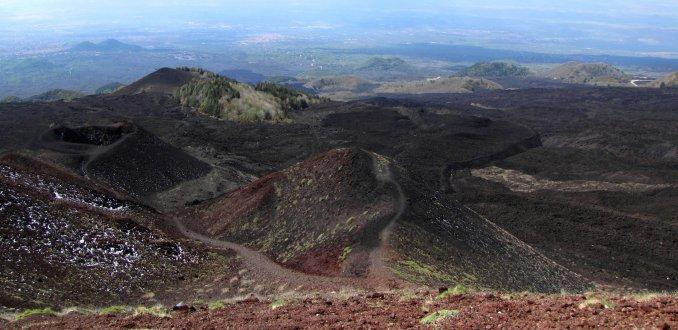 Etna, kleurenpracht