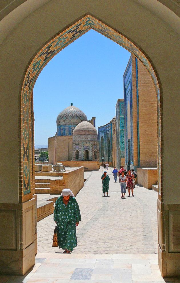 Op weg naar de moskee
