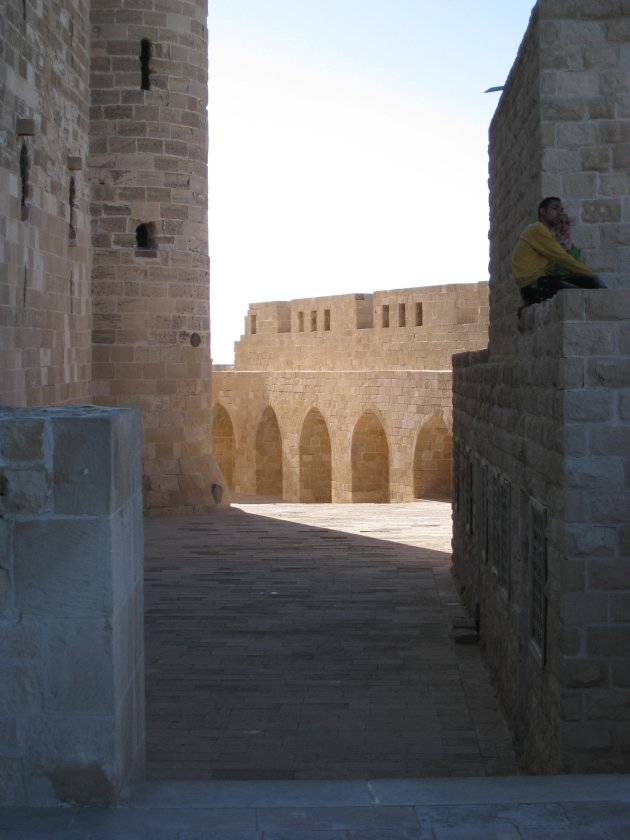 Doorkijkje in Fort Qaitbey