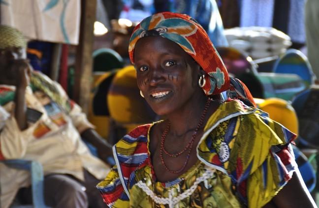 Fulani op de markt