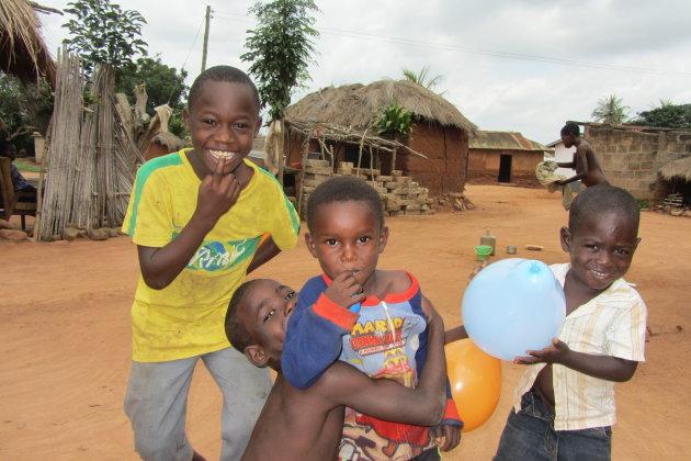 Kinderen in Akatsi, Ghana