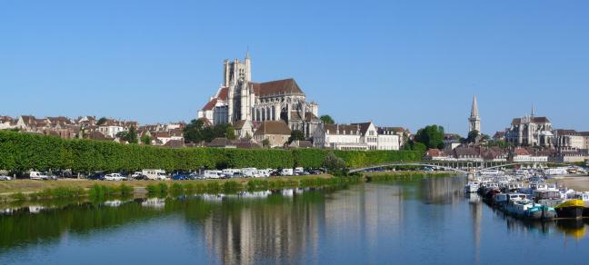 Stadsgezicht Auxerre