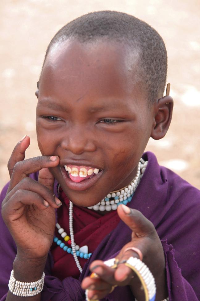 Maasai meisje