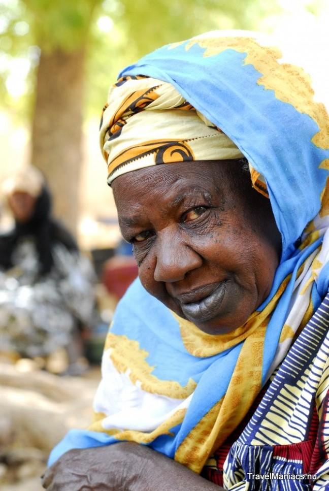 Portret van Malineese vrouw