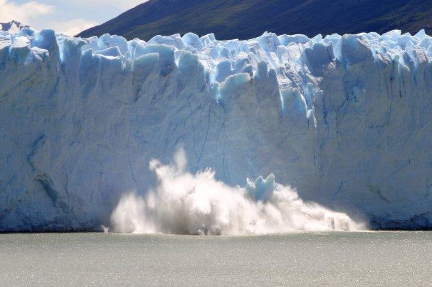 Perito Moreno rupture