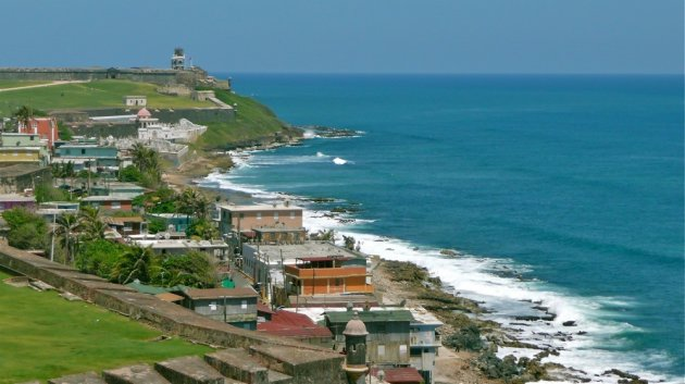 De kust van San Juan.