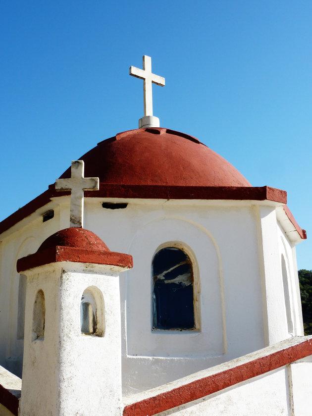 Kerkje bij Vathi op Meganisi