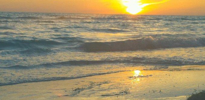Ondergaande zon Key West