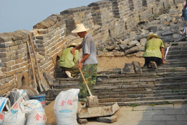 Restauratie Chinese Muur