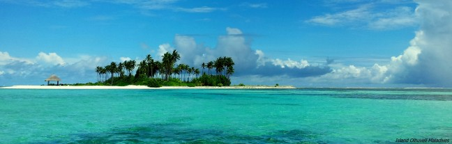 Op een onbewoond eiland.....