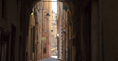 Straatjes in Turijn