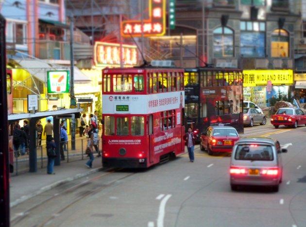 Tram Hongkong Island