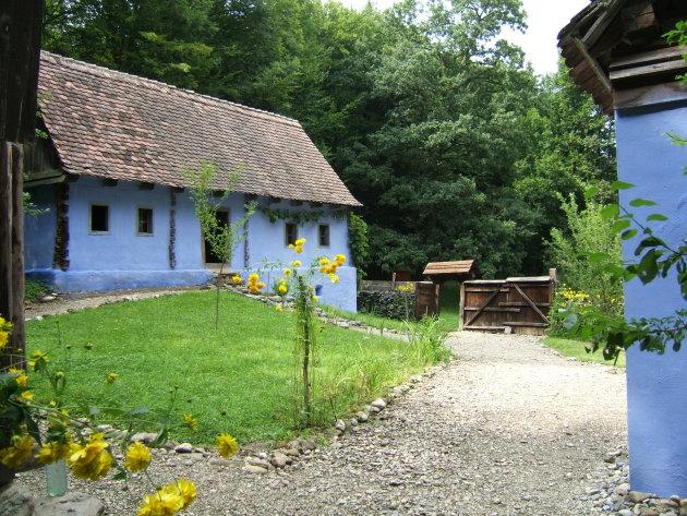 Traditionele Roemeense boerderij