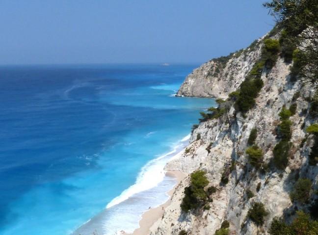 Blauwe kustlijn