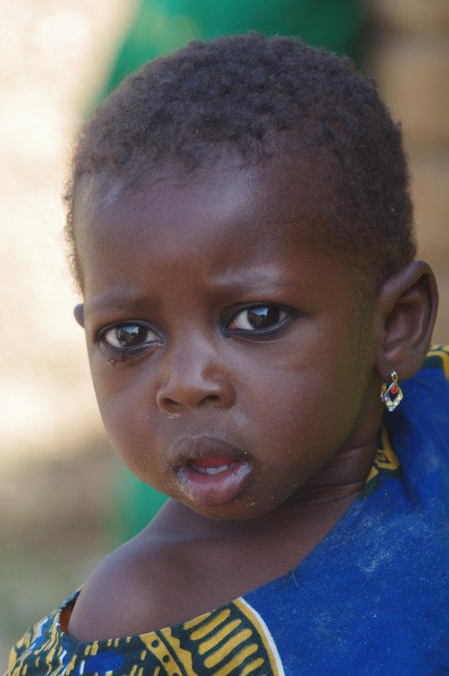 Baby in dorpje