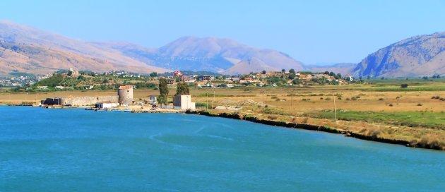 uitkijk van Ali Pasha's fort