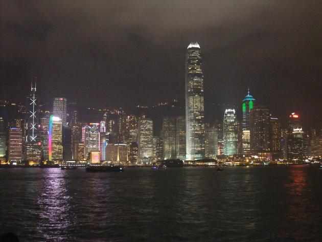 Sound en light show Hong Kong