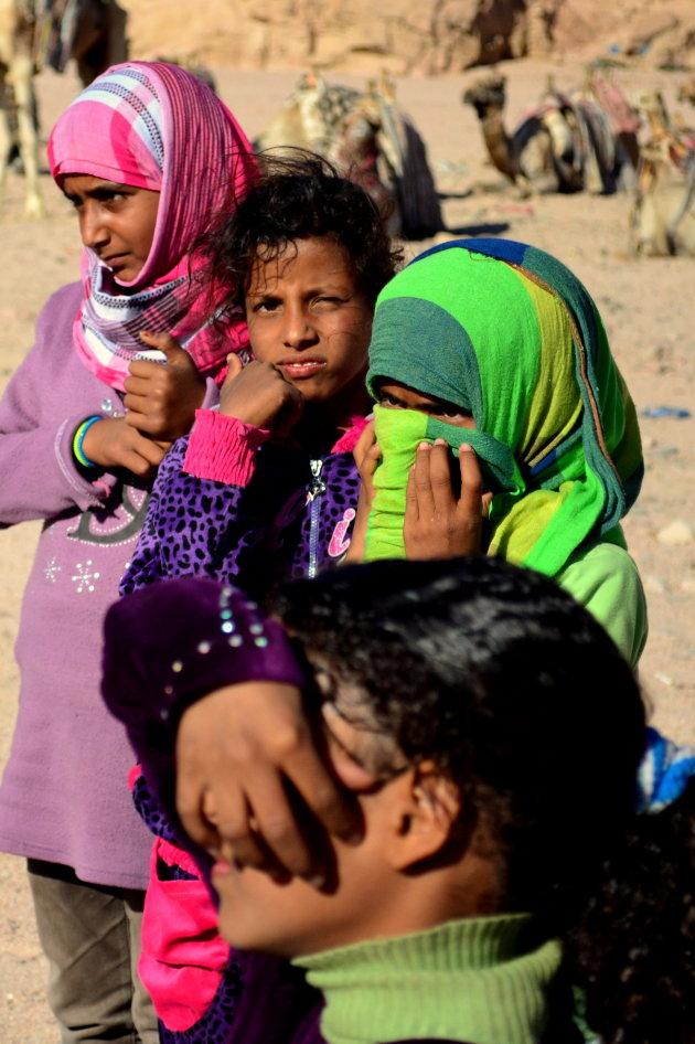 Bedoeinen meisjes