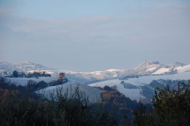 Winters le marche, prachtige sneeuw en zon