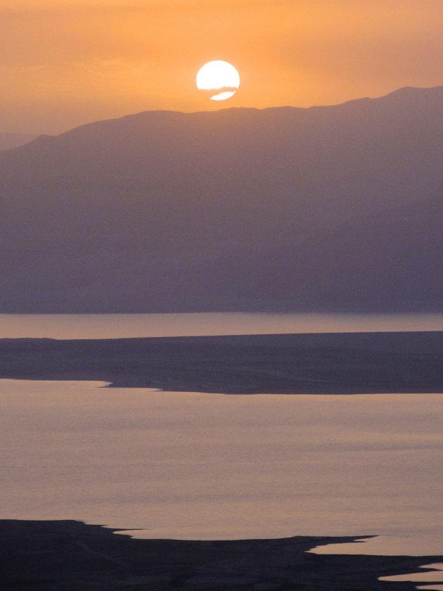 zonsopkomst Massada
