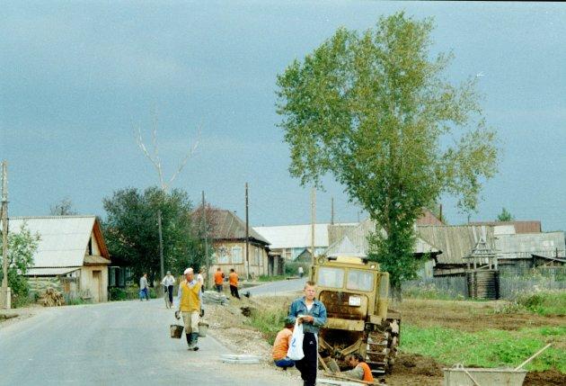 Russisch platteland