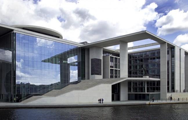 moderne architectuur Berlijn.