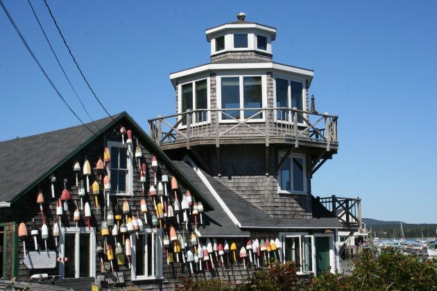 Vissershuisje in Maine  (VS)
