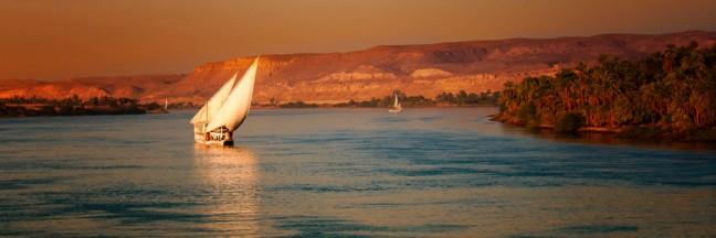 Felucca op de Nijl
