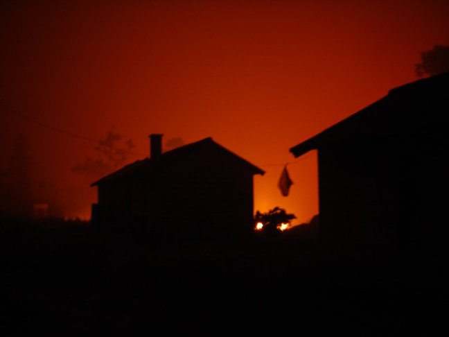 Bosbrand in Mulanje Mountains