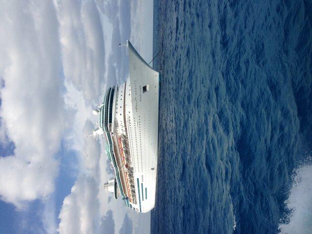 Cruiseschip naar de Bahama's