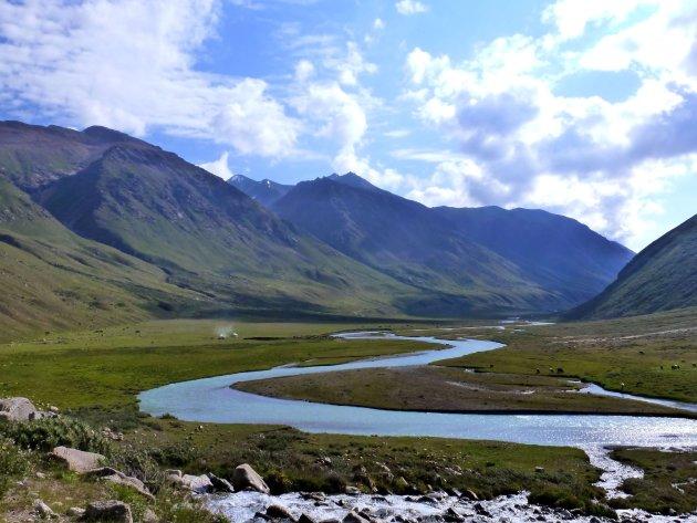 meanderend rivier